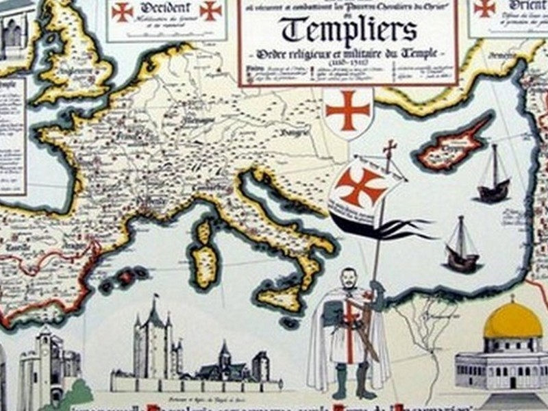Origins of the Templars monastry
